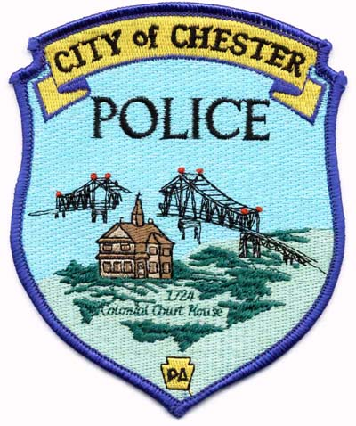 Chester City Pennsylvania Police Patch