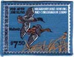 1981 Duck Stamp Patch